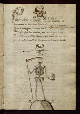 Primer llibre del cementiri de Tarragona