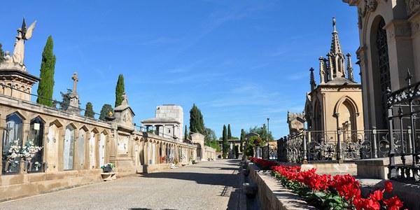 El cementiri de Tarragona amplia l'horari de visita i aplica mesures de seguretat per Tots Sants